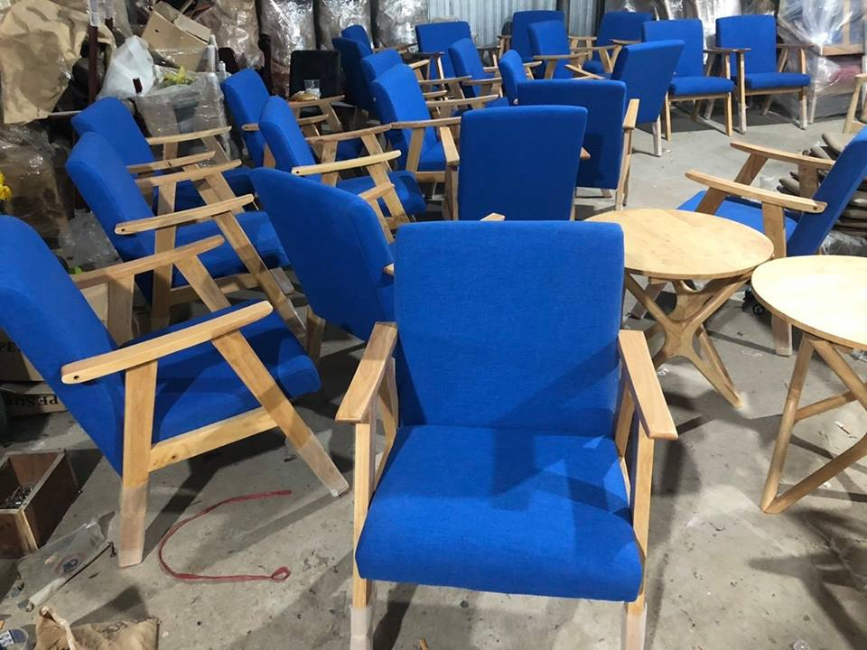 ghế ăn sofa đơn cafe