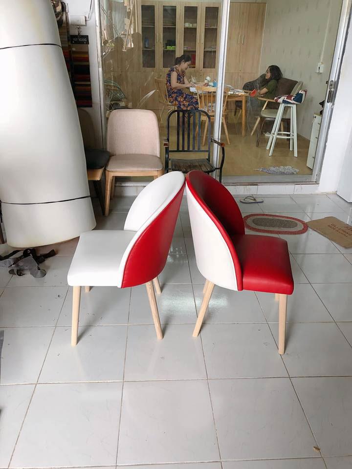 Ghế Velvet bọc đệm nhiều màu