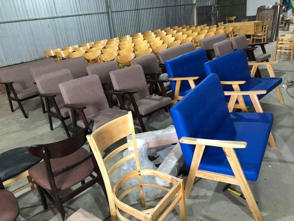 Một số hình ảnh sản phẩm bàn ghế ăn tại Badova