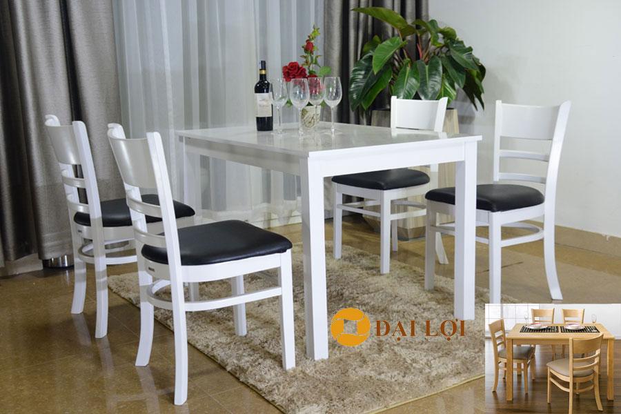 Bộ bàn 4 ghế Mostar có sơn phủ Nano 10*