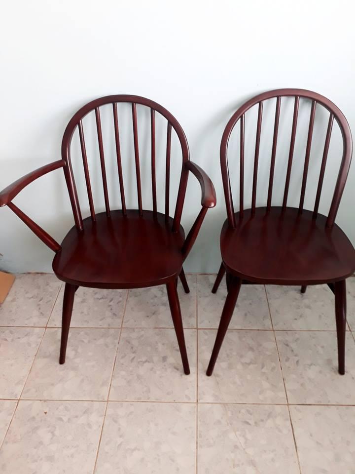 mẫu ghế tay ôm rộng Badova