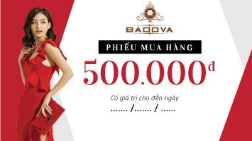 Phiếu mua hàng bàn ăn trị giá 500k của Badova