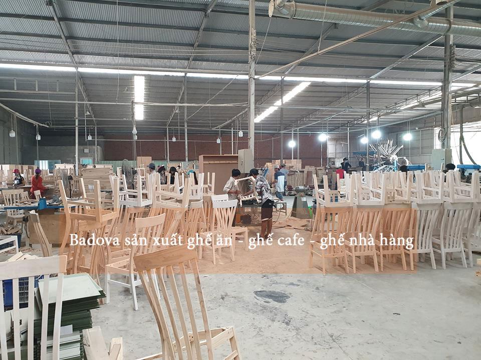 xưởng sản xuất ghế ăn ghế cafe ghế nhà hàng
