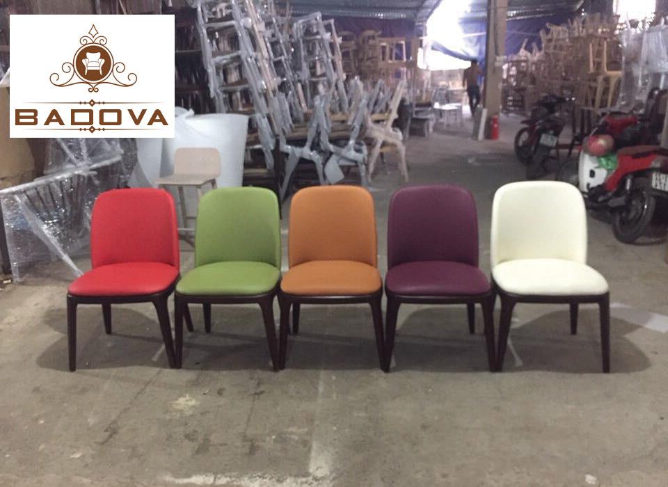 5 màu ghế grace phổ biến đỏ, xanh, tím, trắng, nâu