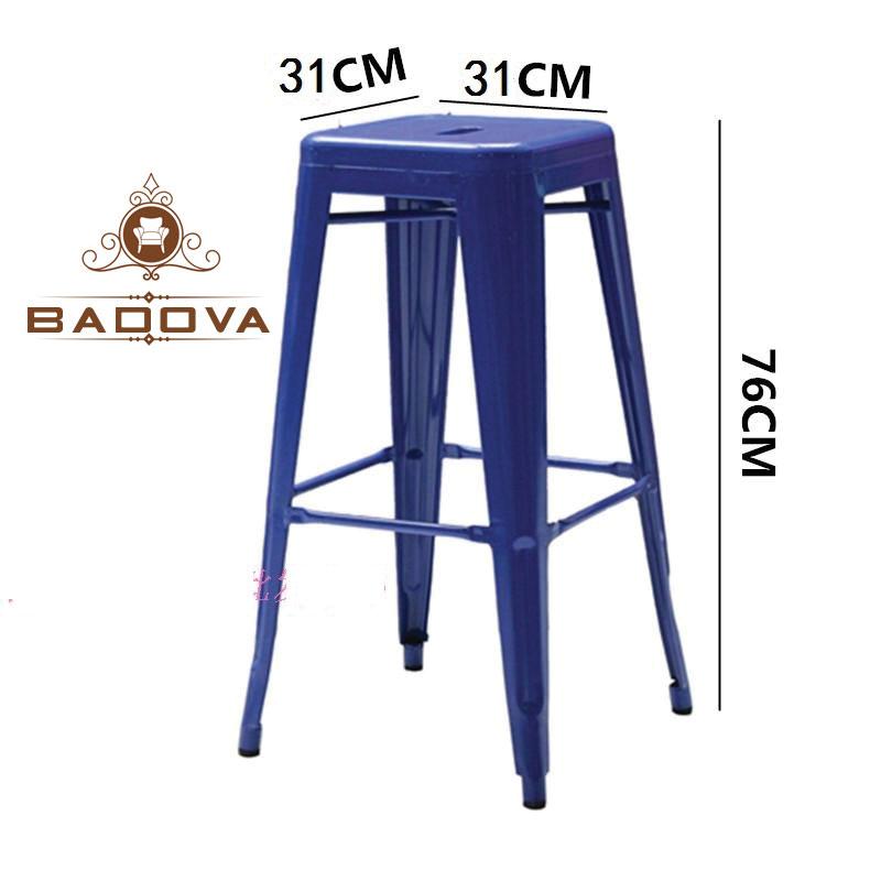 kích thước ghế bar Tolix