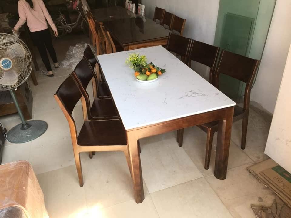 Bộ bàn gỗ óc chó nhập khẩu