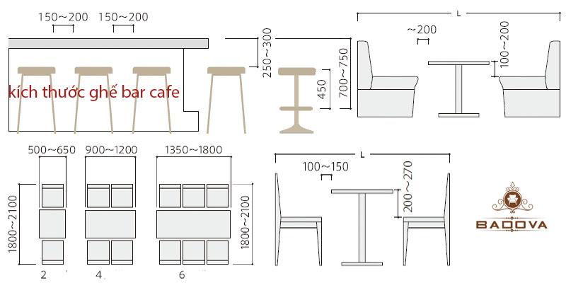các kiểu dáng ngồi bàn cafe