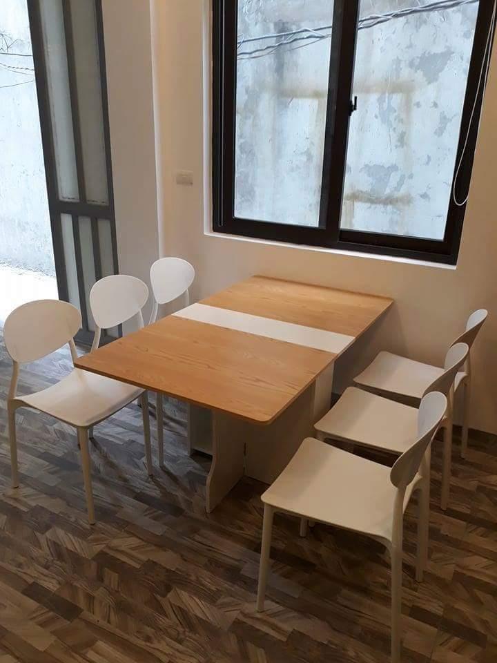 Mẫu bàn thông minh kết hợp với ghế Badova