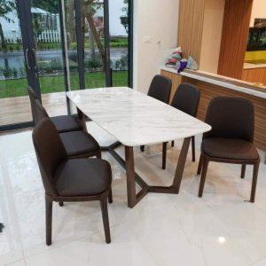 Giao bàn consoder 6 ghế ăn tới khách hàng