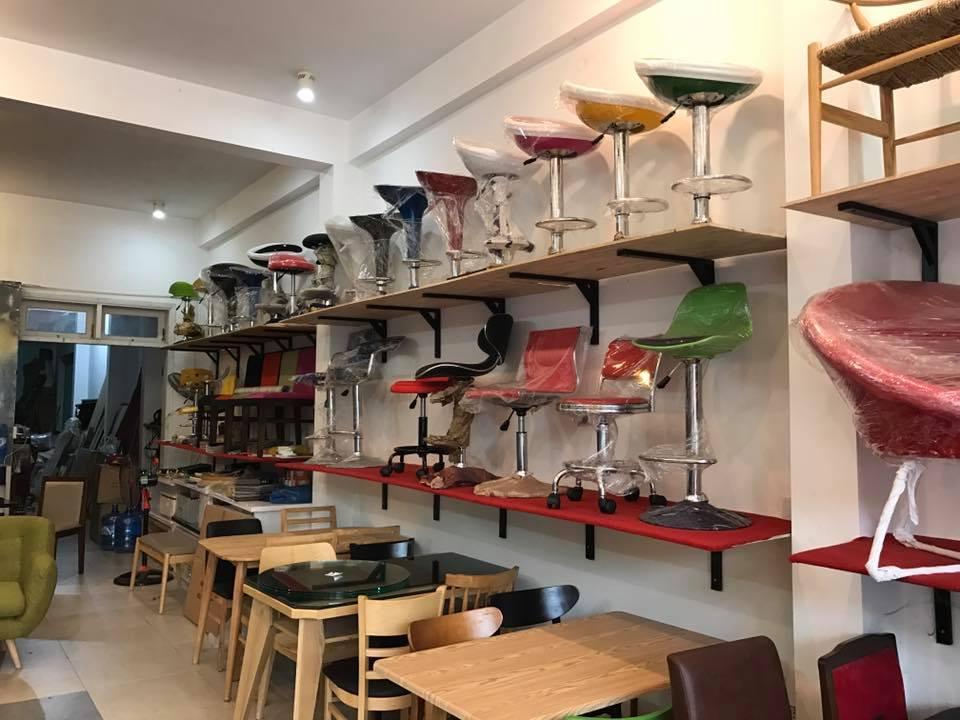 chất liệu bàn cafe đa dạng