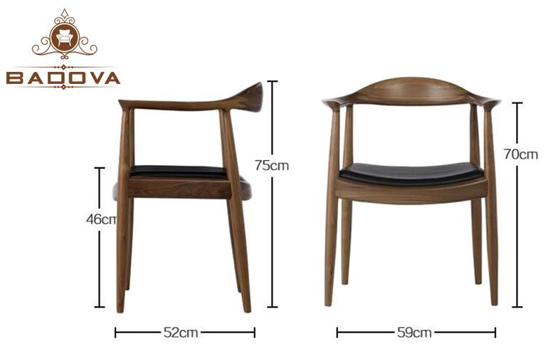 Kích thước thiết kế ghế Kennedy