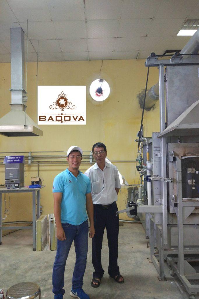 khu xưởng sản xuất cửa chống cháy