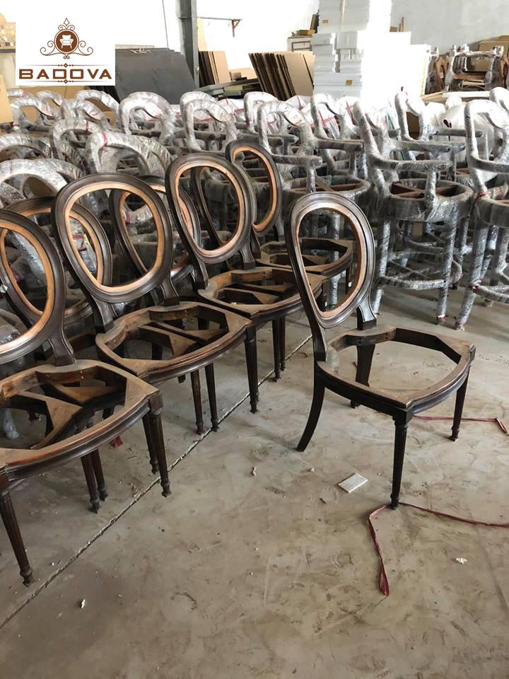 xưởng sản xuất bàn ghế nhà hàng
