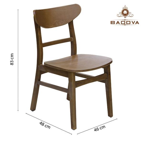Kích thước phổ biến của ghế ăn