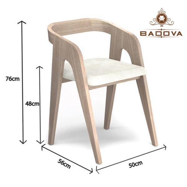 Kích thước ghế ăn 6 người tiêu chuẩn
