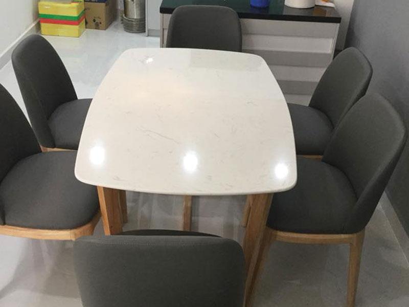 Bộ bàn concorde 8 ghế giao tại nhà khách hàng