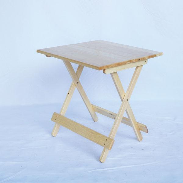 bàn cafe vuông gấp gọn kích thước 60cm cao 75cm