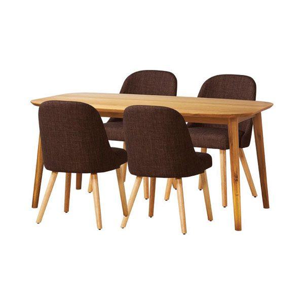 Thiết kế ghế với màu đệm nỉ khác