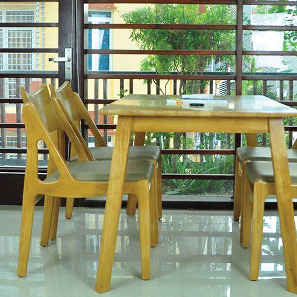 bộ bàn ăn 4 ghế osaka