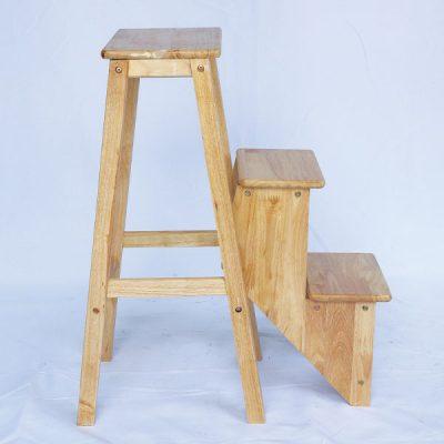 Ghế thắp hương gấp chân gỗ tự nhiên