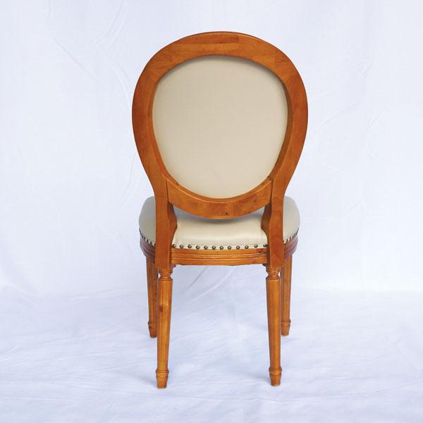 mặt sau của ghế louis