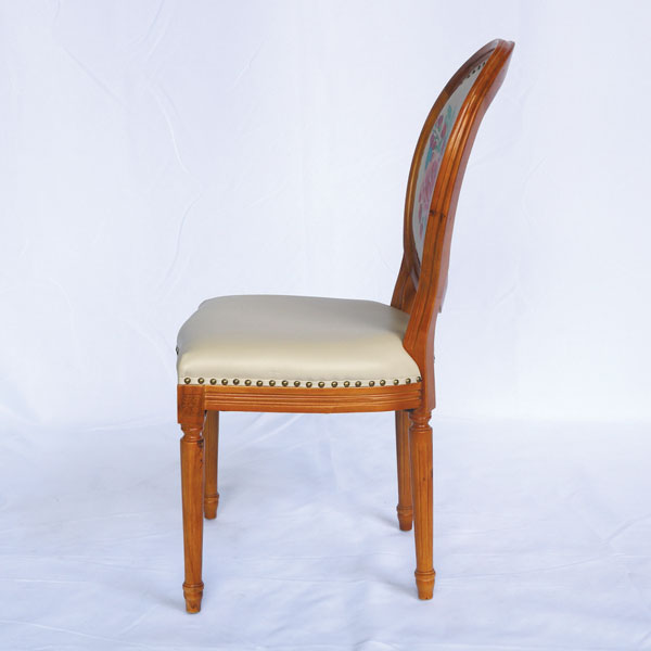 Mặt ngang của ghế louis