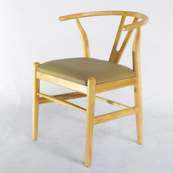 Ghế Wishbone Gỗ Tự Nhiên ứng dụng làm ghế ăn, ghế cafe nhà hàng quán trà sữa