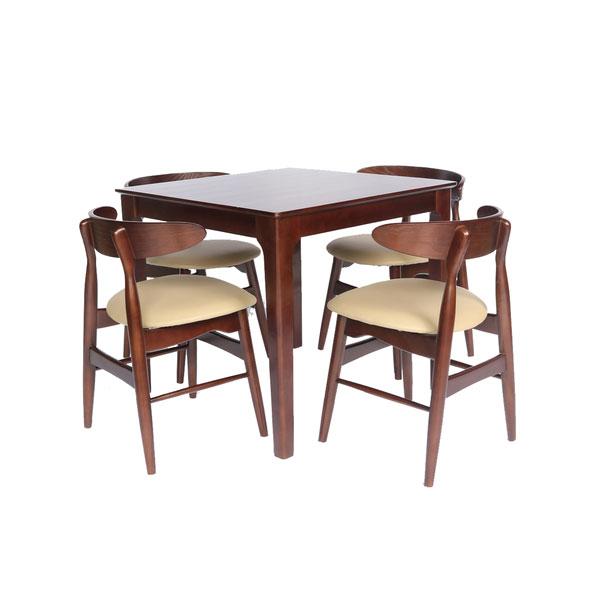 ứng dụng bàn cafe vuông 80cm