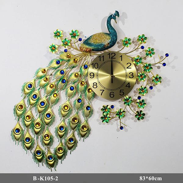 Đồng hồ con Công B-K105-2