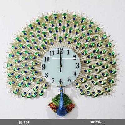 Đồng hồ con công-B-174