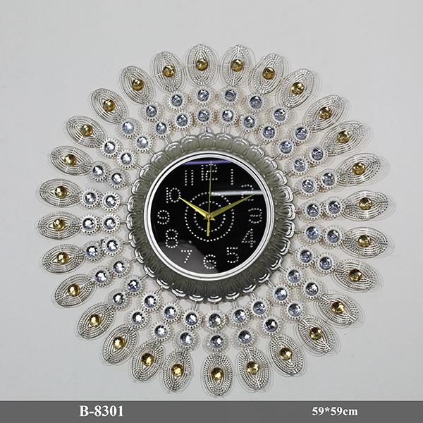 Đồng hồ trang trí B-8301