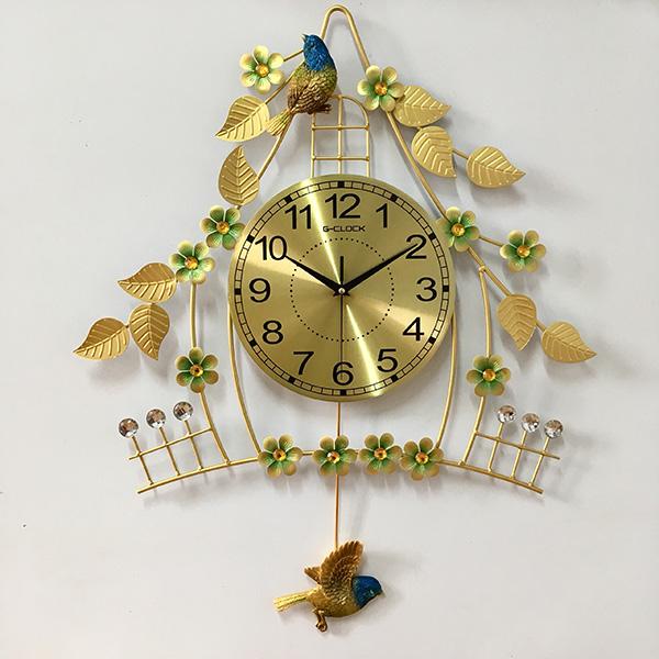 Đồng hồ trang trí D-23307 sống động giống như ngôi nhà của những chú chim