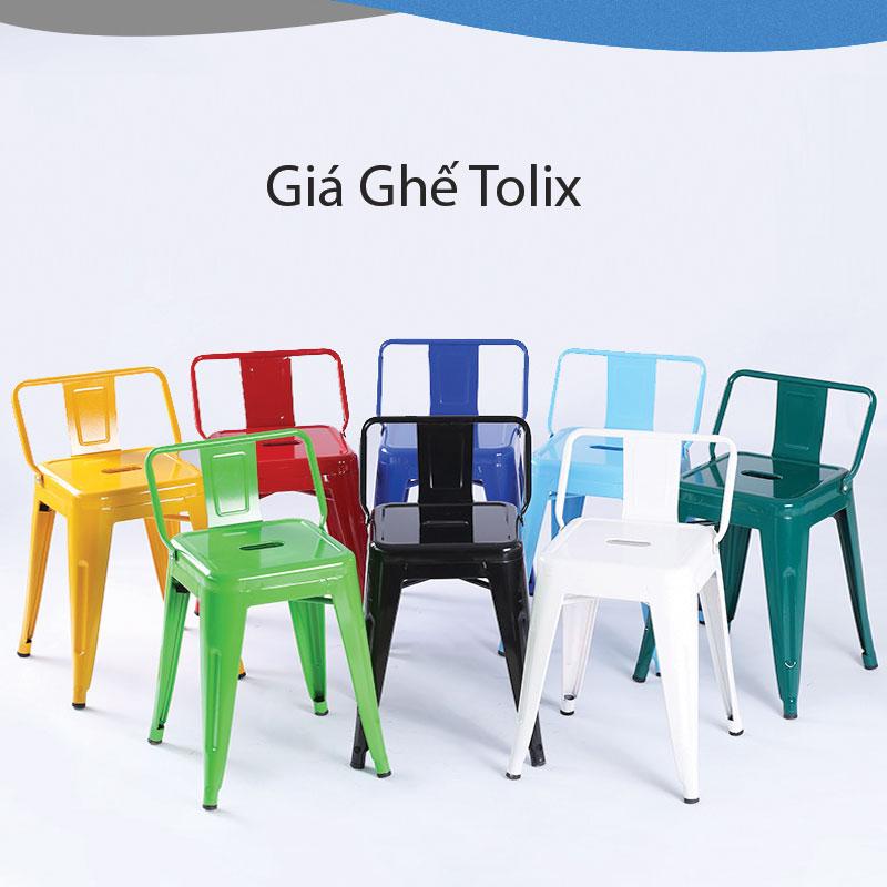 Bảng giá ghế Tolix