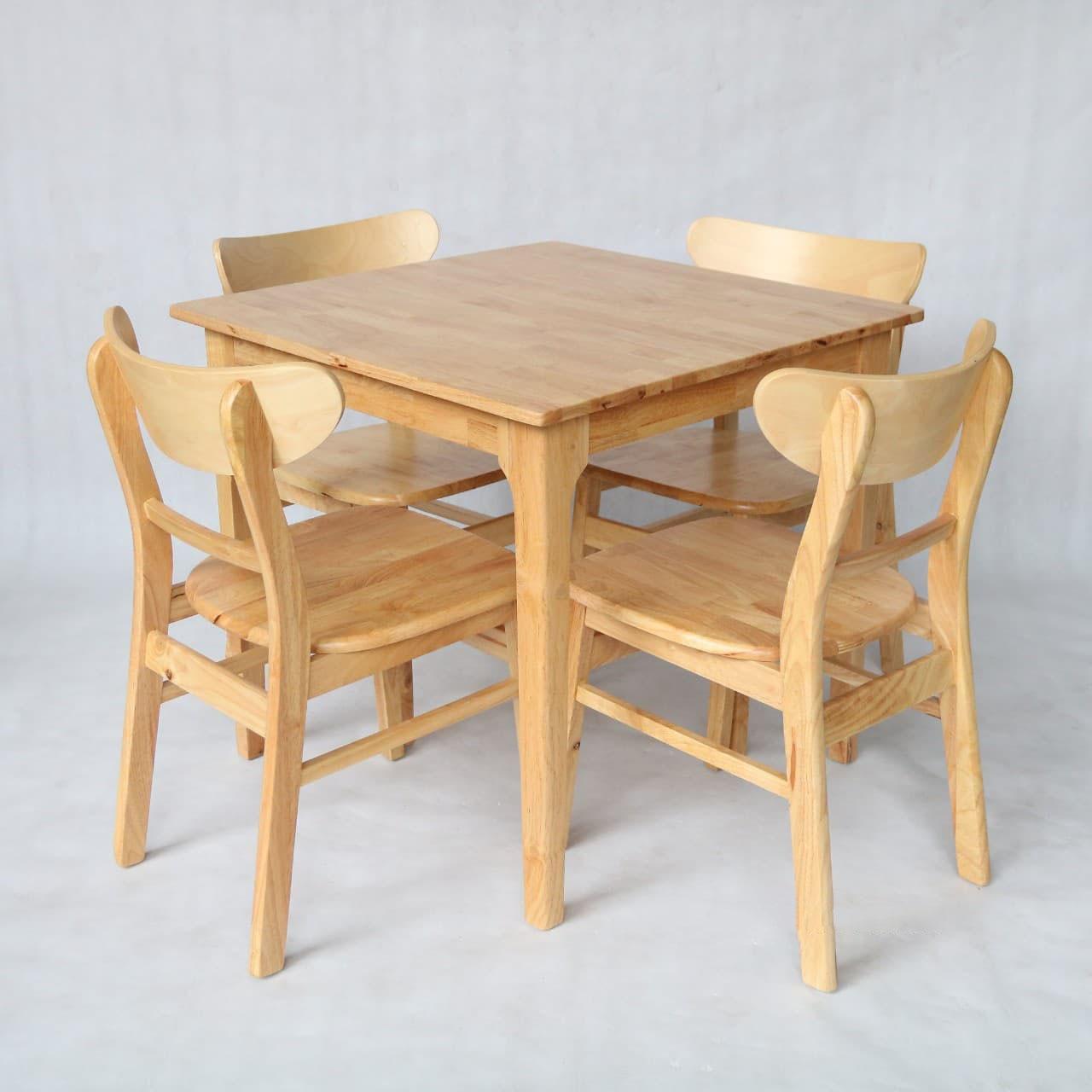 Thông tin bộ bàn ăn Mango gỗ tự nhiên: